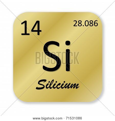 Silicon element, french silicium