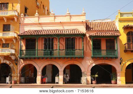 Street Of Cartagena De Indias, Colombia