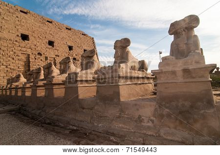 Karnak Temple - Luxor, Egypt, Africa