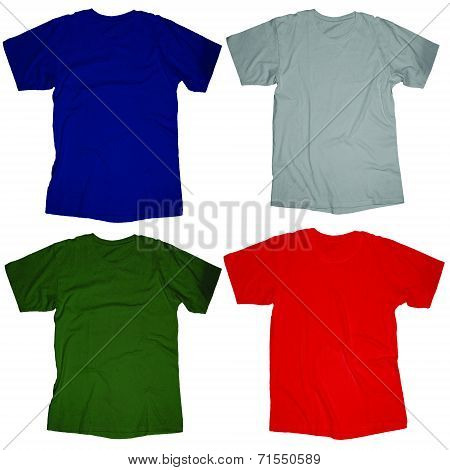 Blank T-Shirt Template