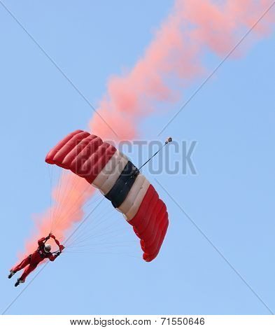 Red Devils parachute display team