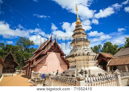 Lanna Style Temple In Thailand