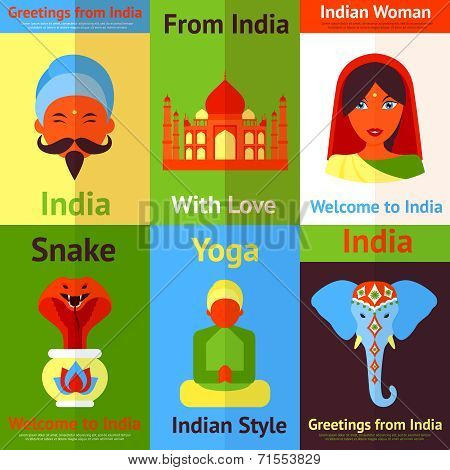 India mini poster