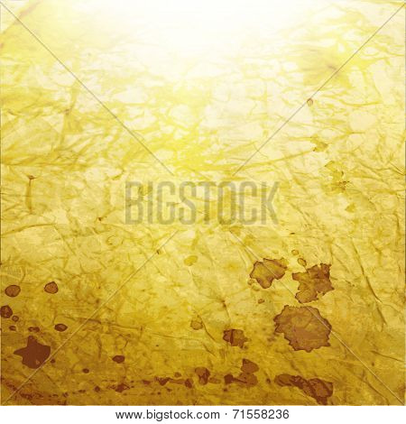 Abstract blurry background. light effects. grange paper