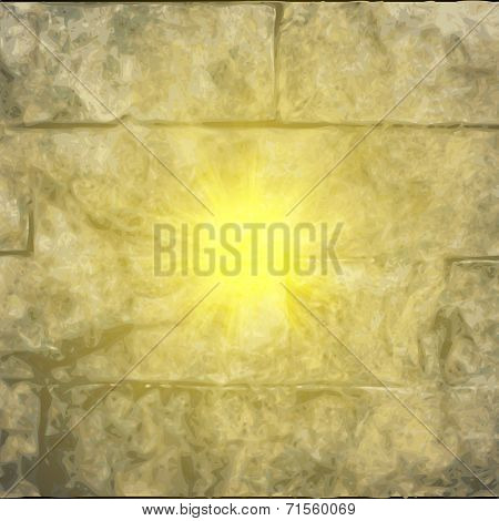 Abstract stone background.  blurry light effects