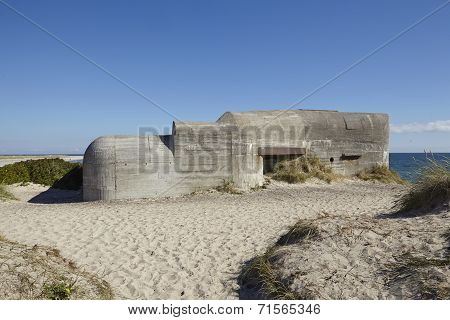 Skagen (denmark) - Second World War Bunkers At The Coast
