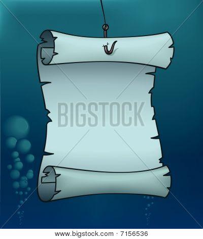 Underwater Parchment