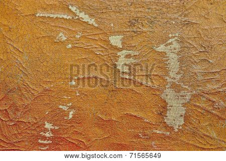 Abstract Texture Of The Shabby Leather