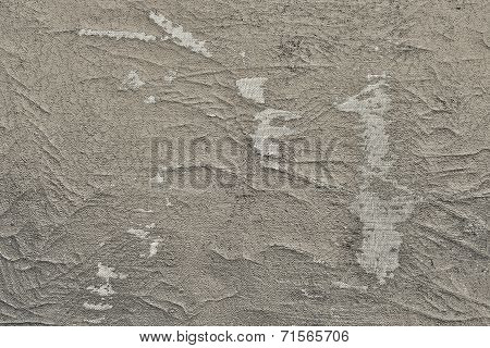 Abstract Texture Of The Shabby Leather Beige Color