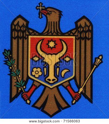 National Emblem. Republic of Moldova.