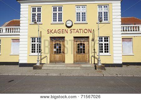 Skagen (denmark) - Old Central Station