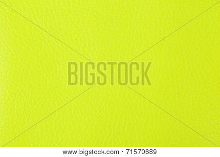 Background With Texture Of Yellow Leather