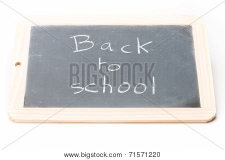 Slate Board Back To School