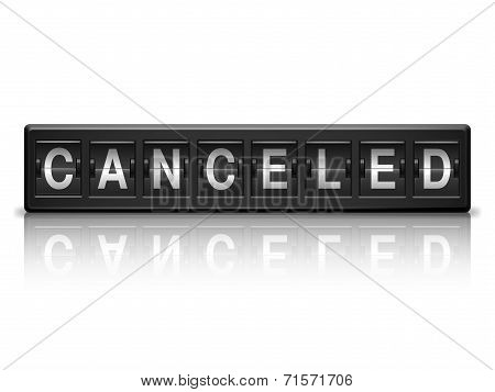 Canceled message.