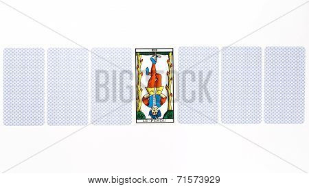 Tarot Card Hanged Draw