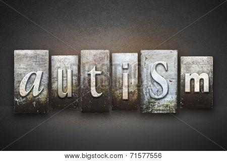 Autism Letterpress