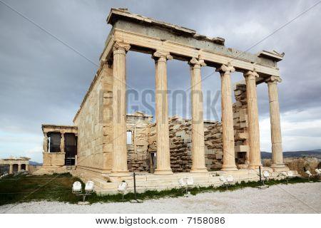 Erechtheum Is An Greek Temple