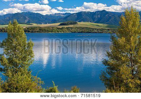 Water Basin Liptovska Mara, Slovakia