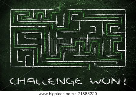 Metaphor Maze Design: Challenge Won!