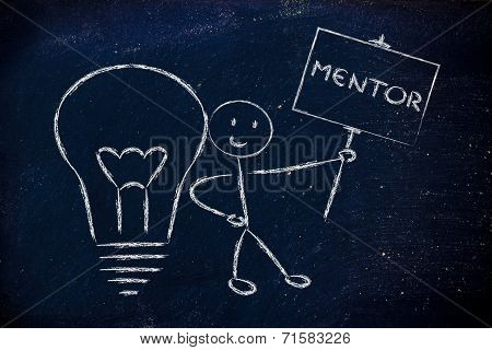 Man With Ideas And Knowledge: Mentor