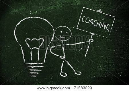 Man With Ideas And Knowledge: Coach