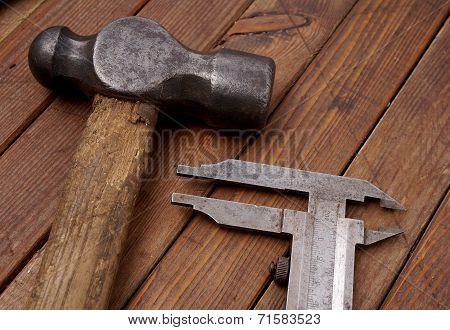 Hammer And Caliper