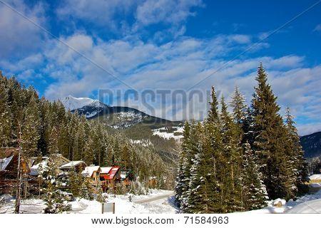 Panorama Mountain Ski Resort in Canada