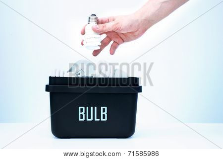 Container For Recycling - Bulb.