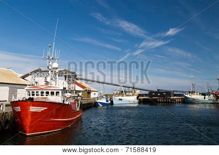 Old Fishing Trawler
