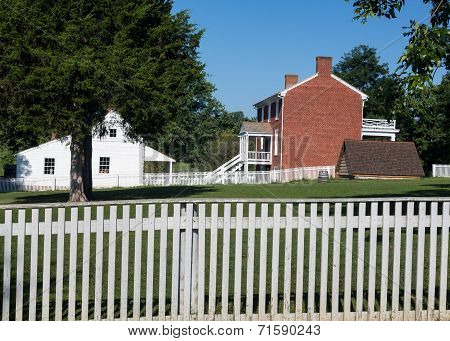 Mclean House At Appomattox Court House National Park