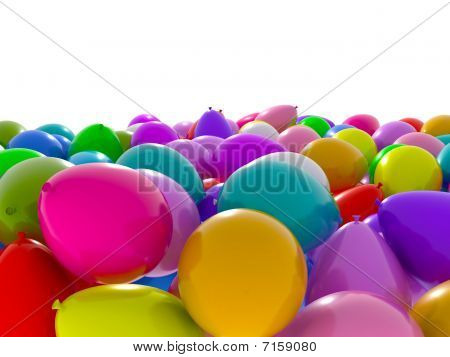 Balloon sea