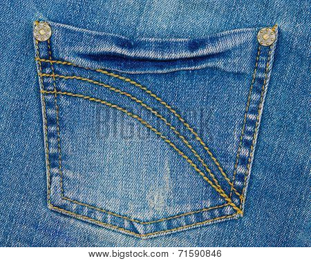 Pocket Of Blue Jeans