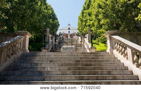Monument Terrace In Lynchburg Virginia