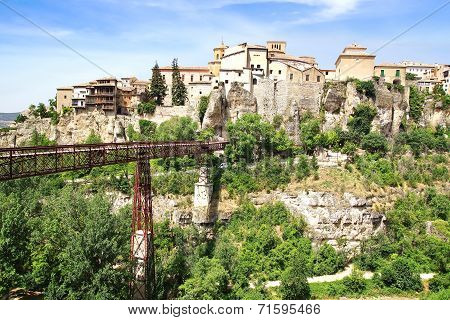 The Old Town. Cuenca, Spain