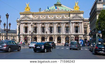 Opera Garnier, Paris, France.
