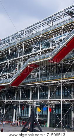 Centre Georges Pompidou, Paris, France.