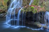 stock photo of intersection  - Waterfall Bigar - JPG