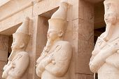 picture of mortuary  - The Mortuary Temple of Queen Hatshepsut Egypt - JPG