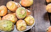 picture of prickly pears  - Some fresh Prickly Pears  - JPG