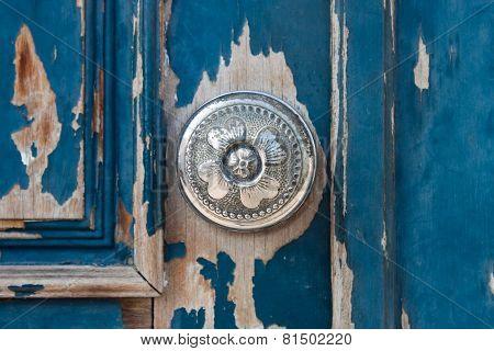 Silver Metal Door Knob