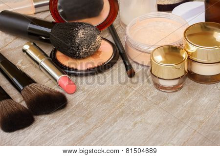 Basic make-up