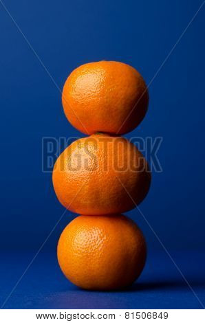 Stack Of Clementines