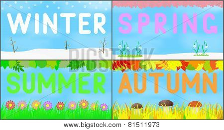 Set scenery seasons.