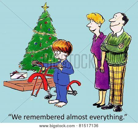 Incomplete Christmas Gift