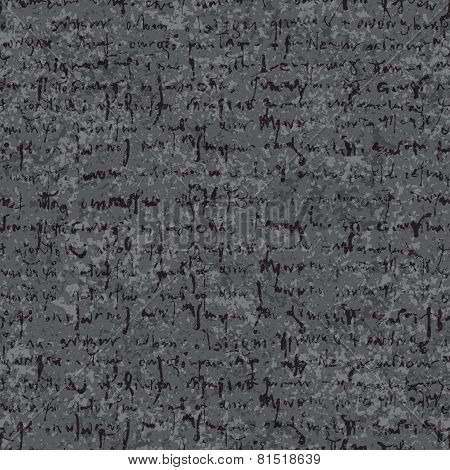 Old lettering seamless texture
