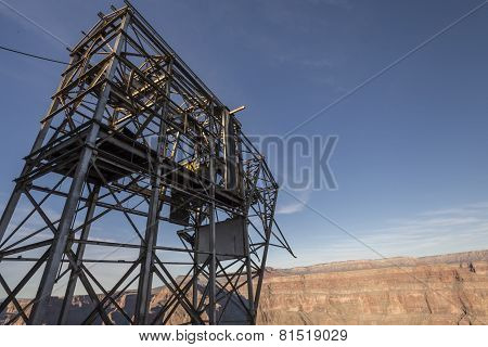 Aerial Tramway Structure