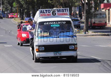 Passenger Bus.