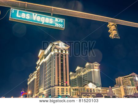 Caesars Palace And Las Vegas Boulevard