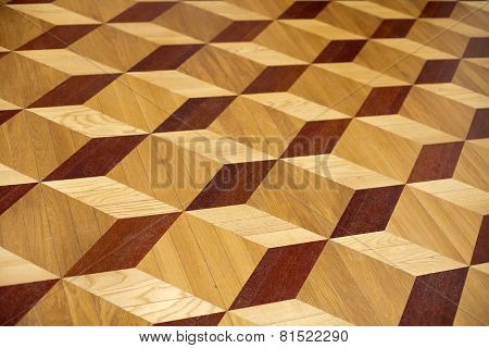 Old Palace Wooden Parquet Flooring Design