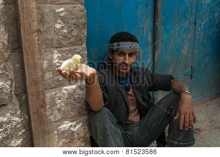 Young Man In Yemen
